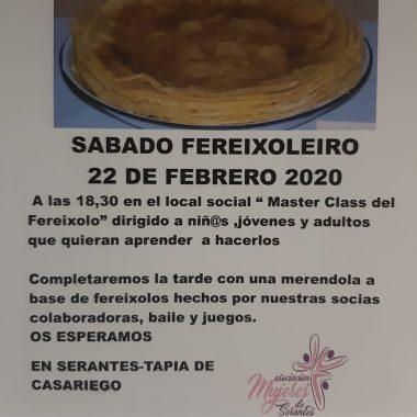 """El Asociación de Muyeres de Serantes (Tapia de Casariego) celebra """"Sábado Fereixoleiro"""""""
