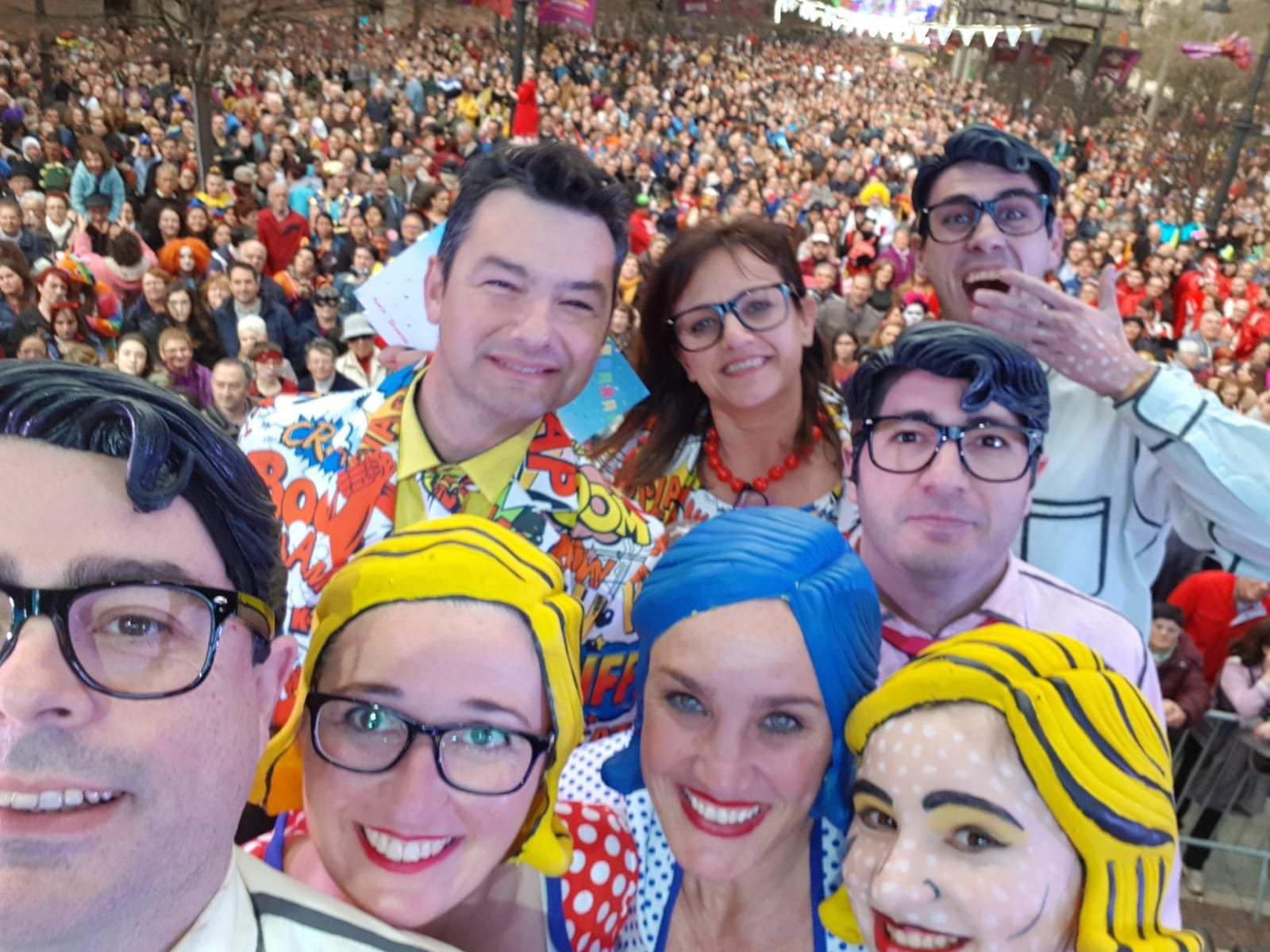 El grupo de Marta y Miguel desfilará en los carnavales de Vigo y Águilas (Murcia)