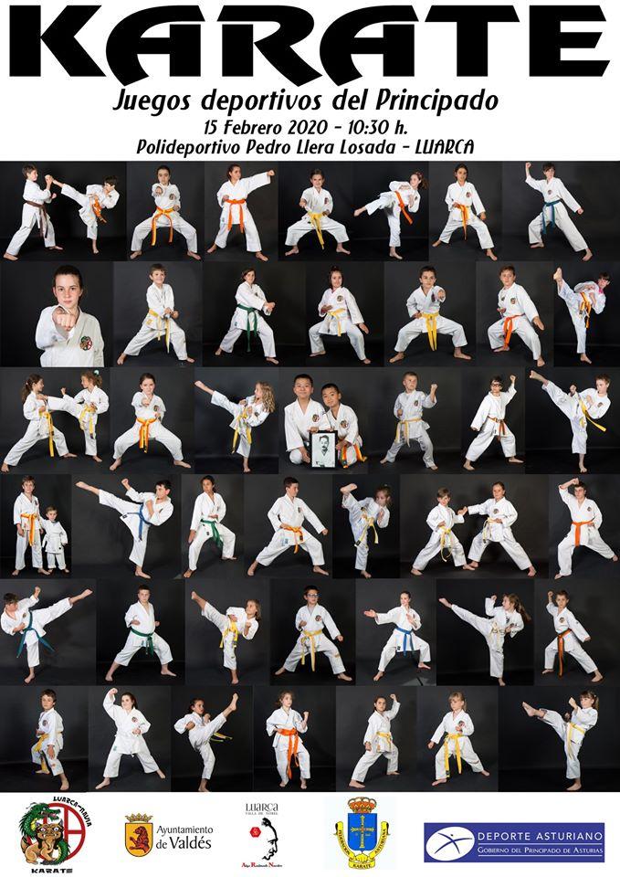 Luarca acoge este sábado la Fase Zonal de Karate de los Juegos Deportivos del Principado