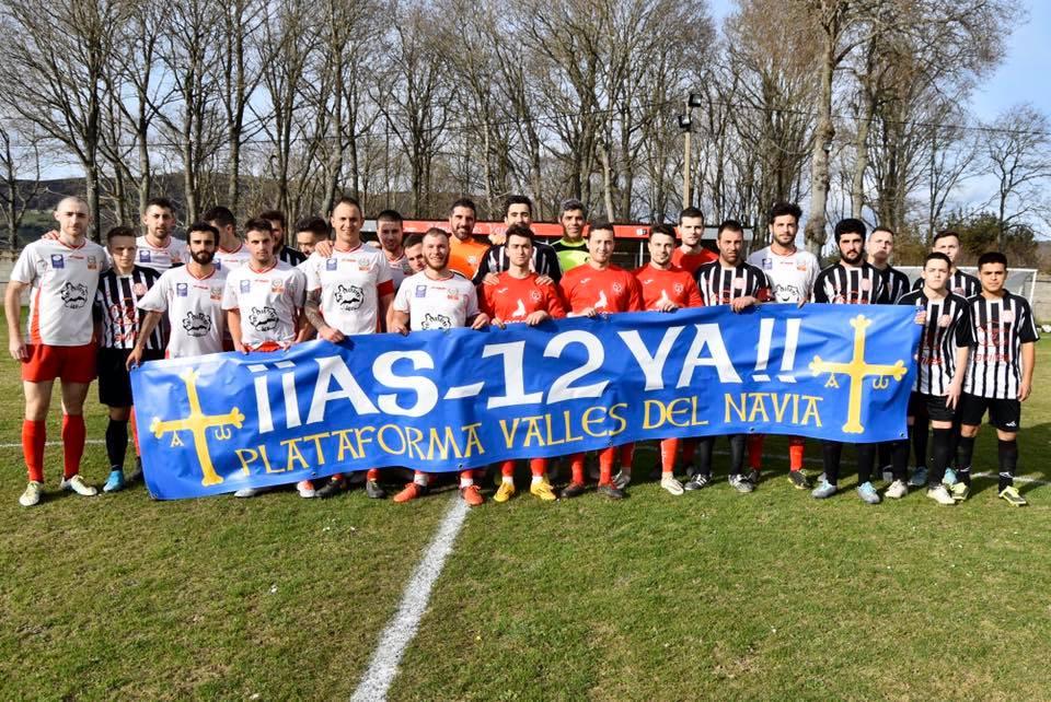 El Boal CF también se sumó al apoyo a la Plataforma Valles del Navia