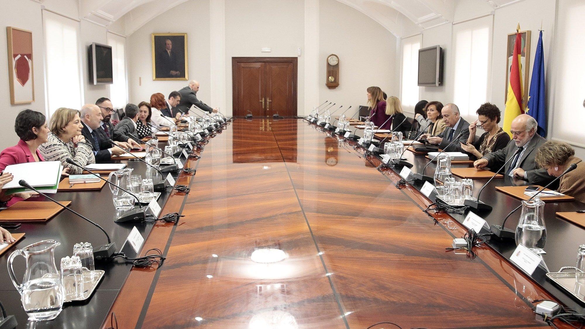 Reunión de Delegados y Delegadas de Gobierno en Madrid con asistencia de Delia Losa