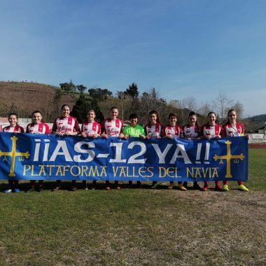 Nueva victoria del Navia CF Femenino ante el Avilés Stadium (3-0)