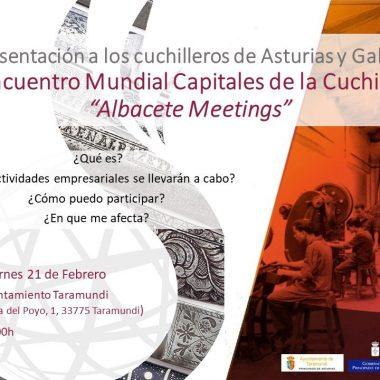 Taramundi acogerá la presentación del III Encuentro Mundial de Capitales de la Cuchillería, a celebrar en Albacete