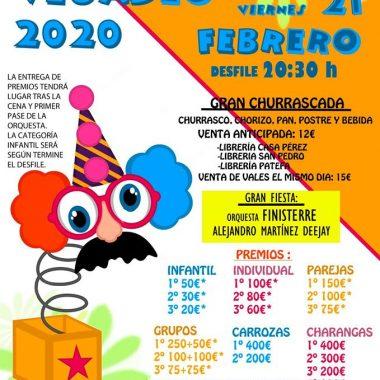 Vegadeo abre los desfiles de Carnaval de la comarca, este 21 de febrero