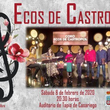 Actuación del Coro Ecos de Castropol en Tapia de Casariego