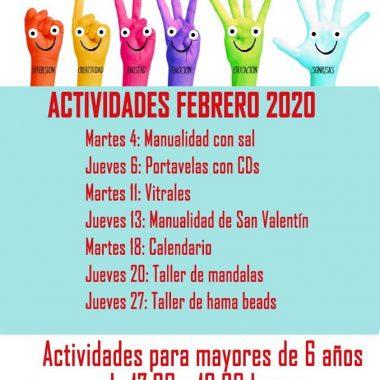 Actividades del Centro de Día de Menores de Tapia