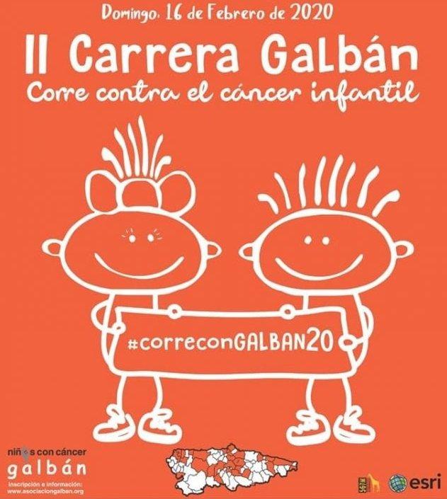 Este domingo se celebra la II Carrera Galbán contra en Cáncer Infantil en 30 Concejos de Asturias entre ellos siete de nuestra Comarca