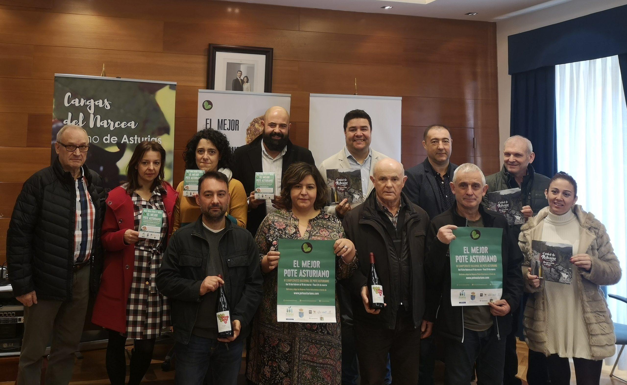 Presentación III Campeonato de España de Pote Asturiano en Cangas del Narcea