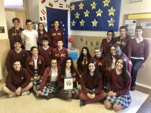 Alumnado del Colegio Santo Domingo de Navia viajará a Estrasburgo para participar en la Jornada Euroscola