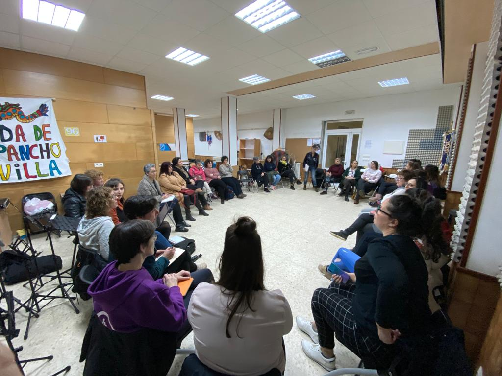 II Encuentro Comarcal de Galegas 8M en la Mariña en Foz