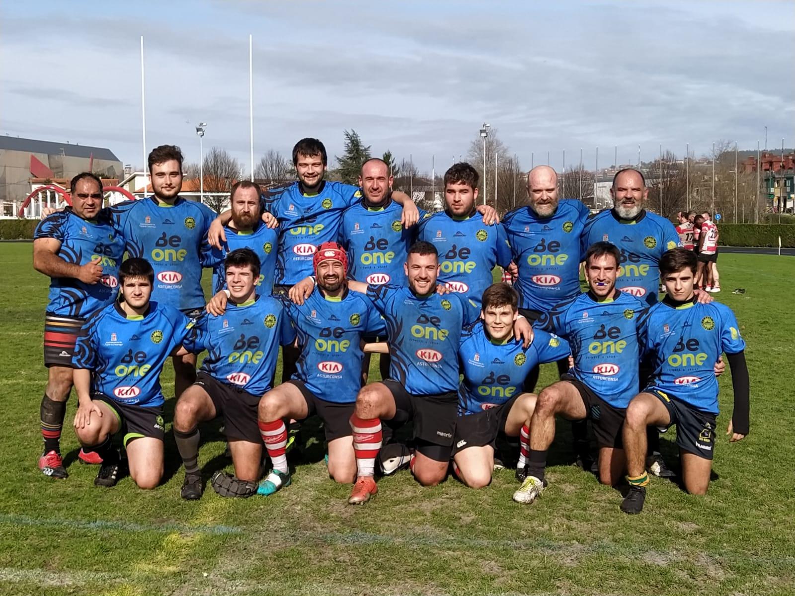 Derrota del Beone Rugby en su visita al Gijón Rugby Club