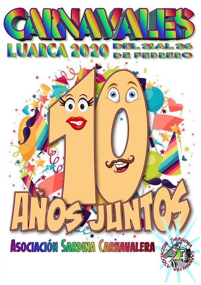 La Sardina Carnavalera de Luarca celebra su décimo aniversario