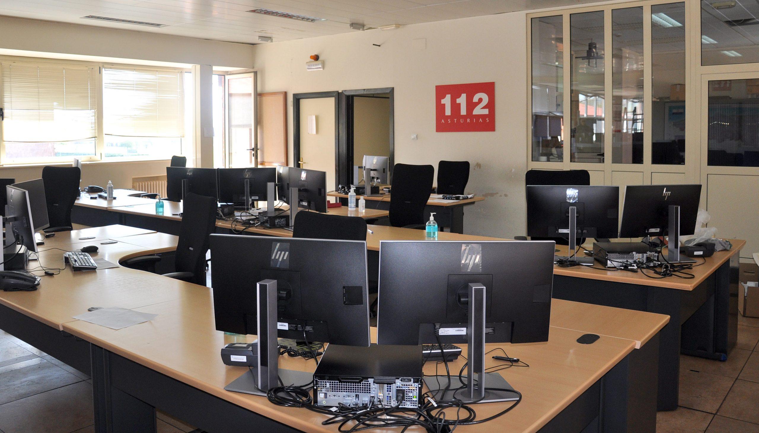 El Servicio de Emergencias del Principado refuerza las medidas de Seguridad para Garantizar su Funcionamiento durante la Crisis Sanitaria