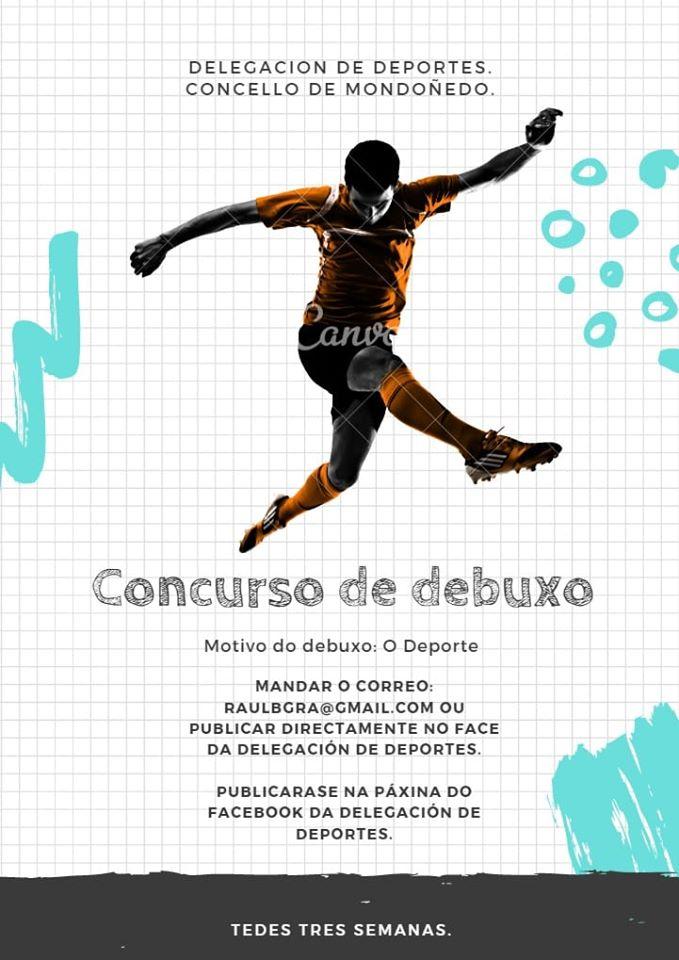 Actividades de la Delegación de Deportes del Concello de Mondoñedo para hacer mas llevadero el confinamiento por el Coronavirus