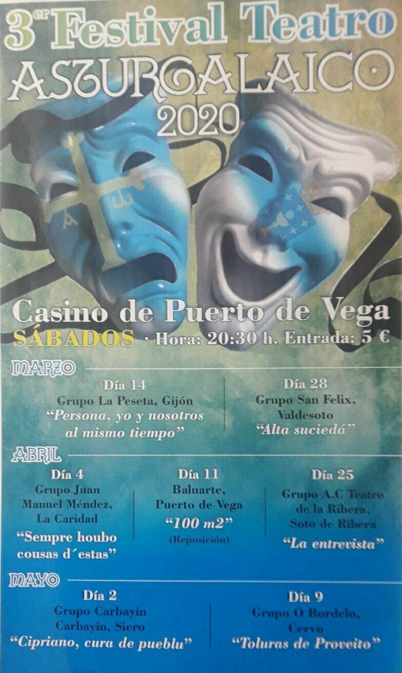 Se aplaza el inicio del III Festival de Teatro Asturgalaico de Puerto de Vega