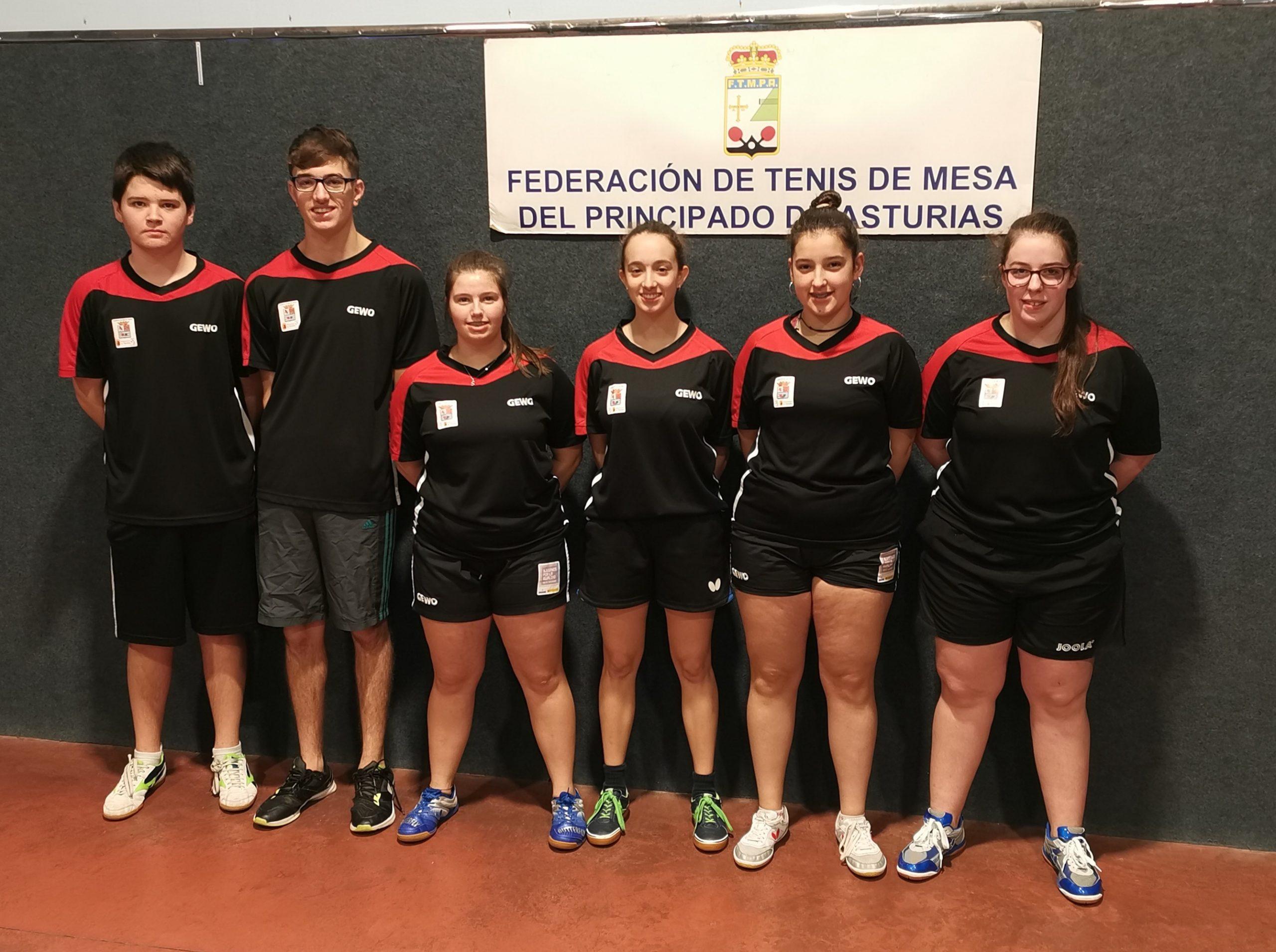 El Luarca TM contará con cinco representantes en el Campeonato de Asturias Juvenil