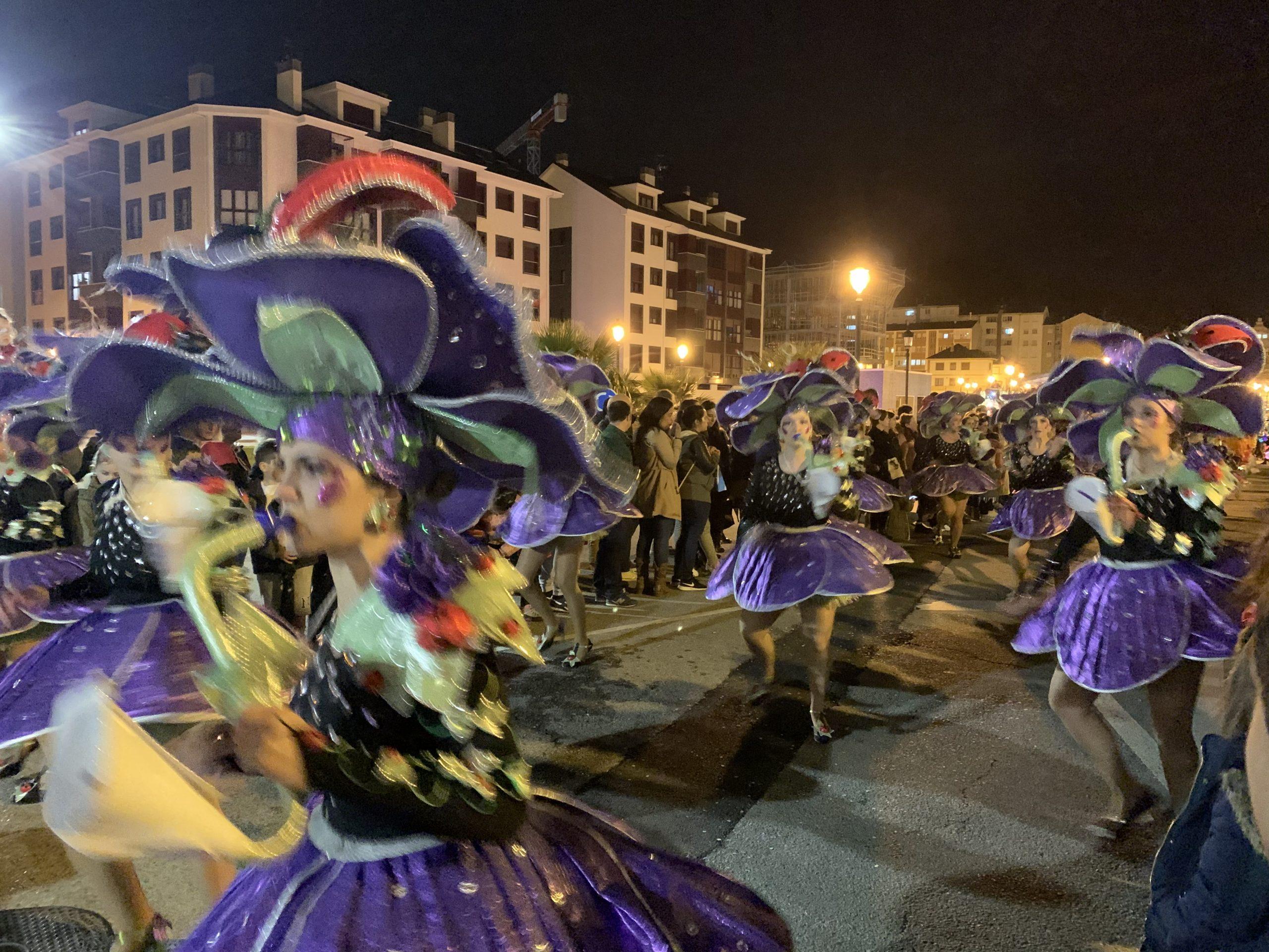 Se esperan más de 600 participantes en el Desfile de Carnaval de Navia