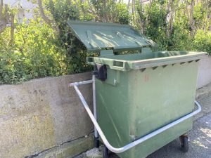 """""""No se puede echar la basura en el contenedor por la mañana, usando bolsas mal cerradas"""""""