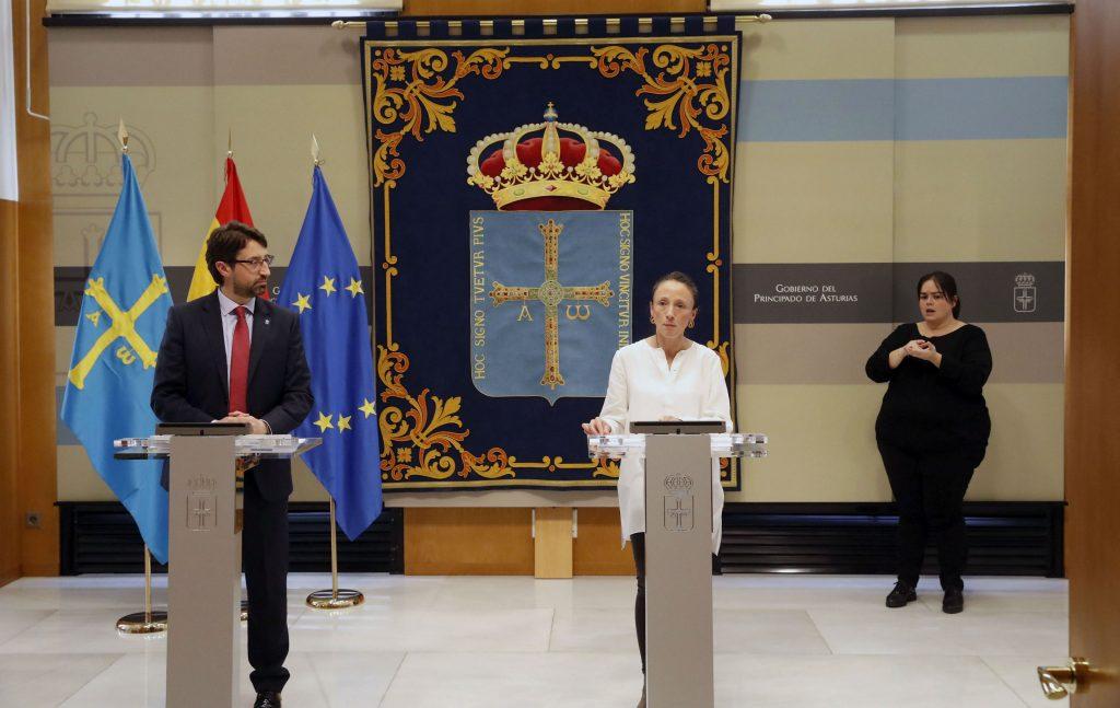 El Gobierno de Asturias destina 4 millones en ayudas a diez mil autónomos afectados por la declaración del estado de alarma