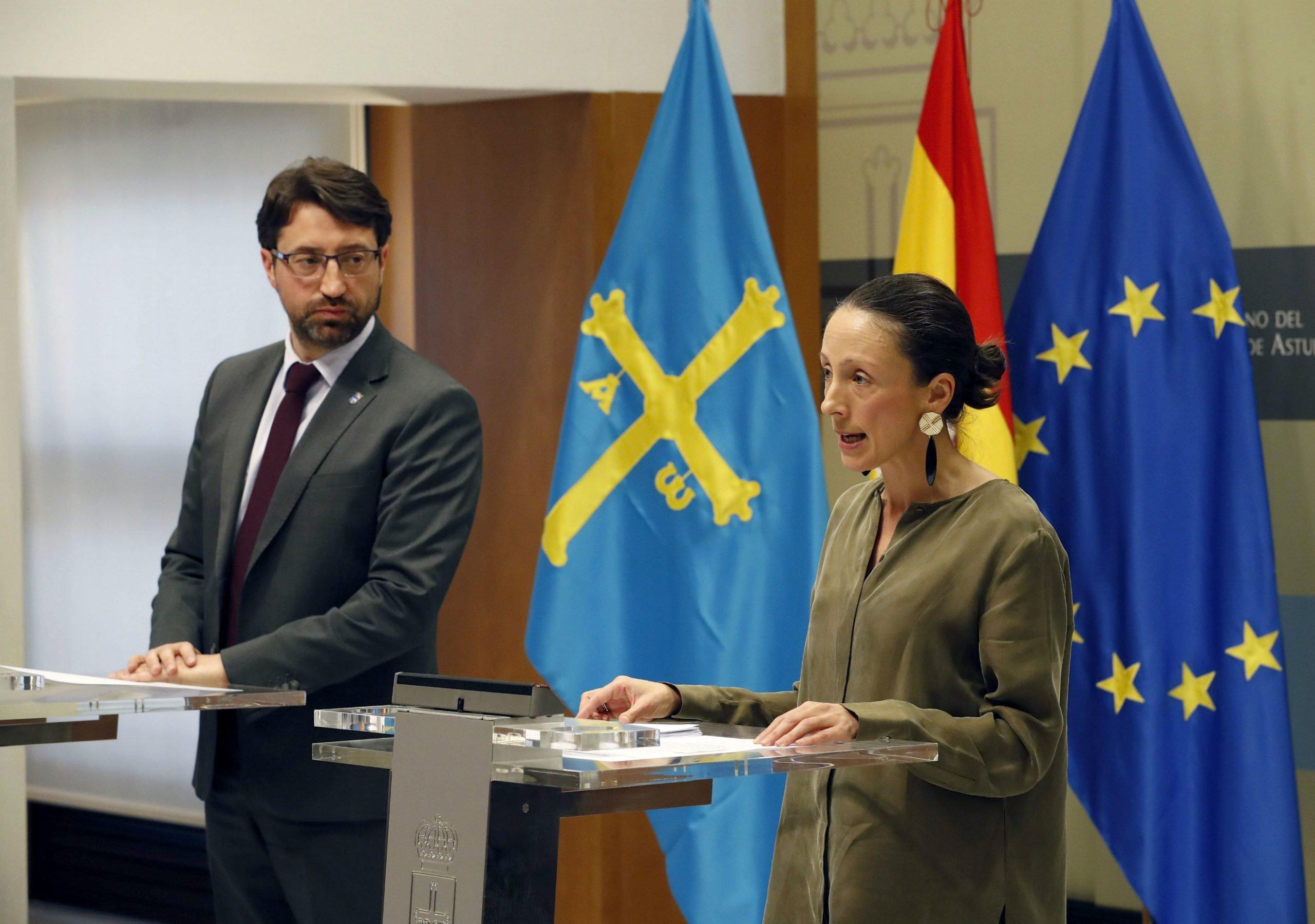 El Gobierno de Asturias firma un convenio con seis bancos para adelantar las  prestaciones de desempleo a trabajadores afectados por ERTE. Y abre una línea de financiación para pymes dotada con 10 millones de euros