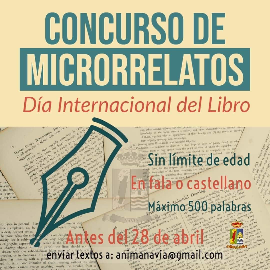 El ayuntamiento de Navia convoca un Concurso de Microrrelatos