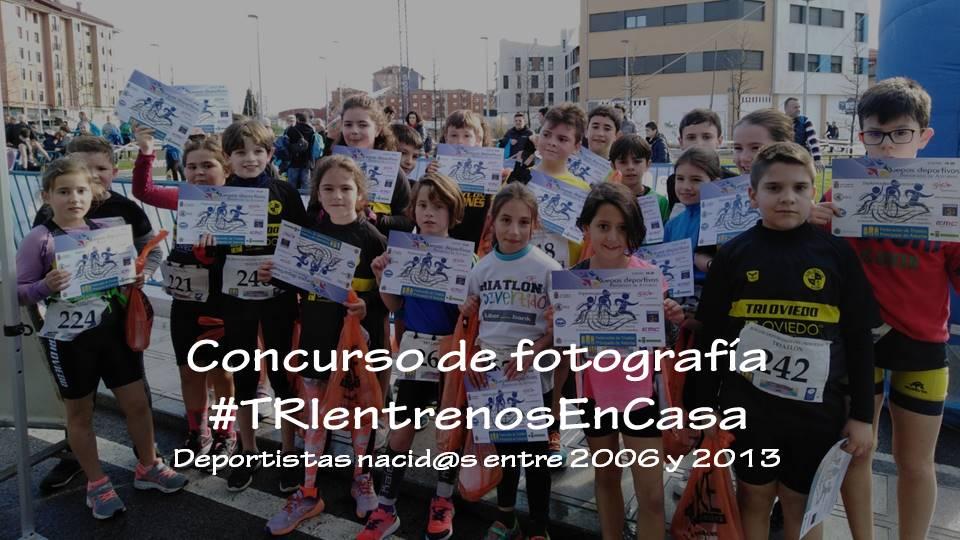 Concurso de Fotografía FTPA #TRIentrenosEnCasa para deportistas nacidos entre 2006 y 2013