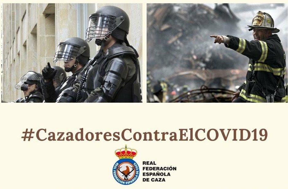 La Federación Española de Caza quiere valorar a los muchos cazadores que están en primera línea en la lucha contra el Covid19