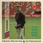 El entrenador valdesano Alberto Menéndez, dirige esta temporada al UD Ceares de 3ª División