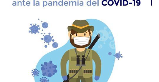 RFEC y Artemisan elaboran la 'Guía de buenas prácticas para el cazador ante la pandemia del COVID-19'