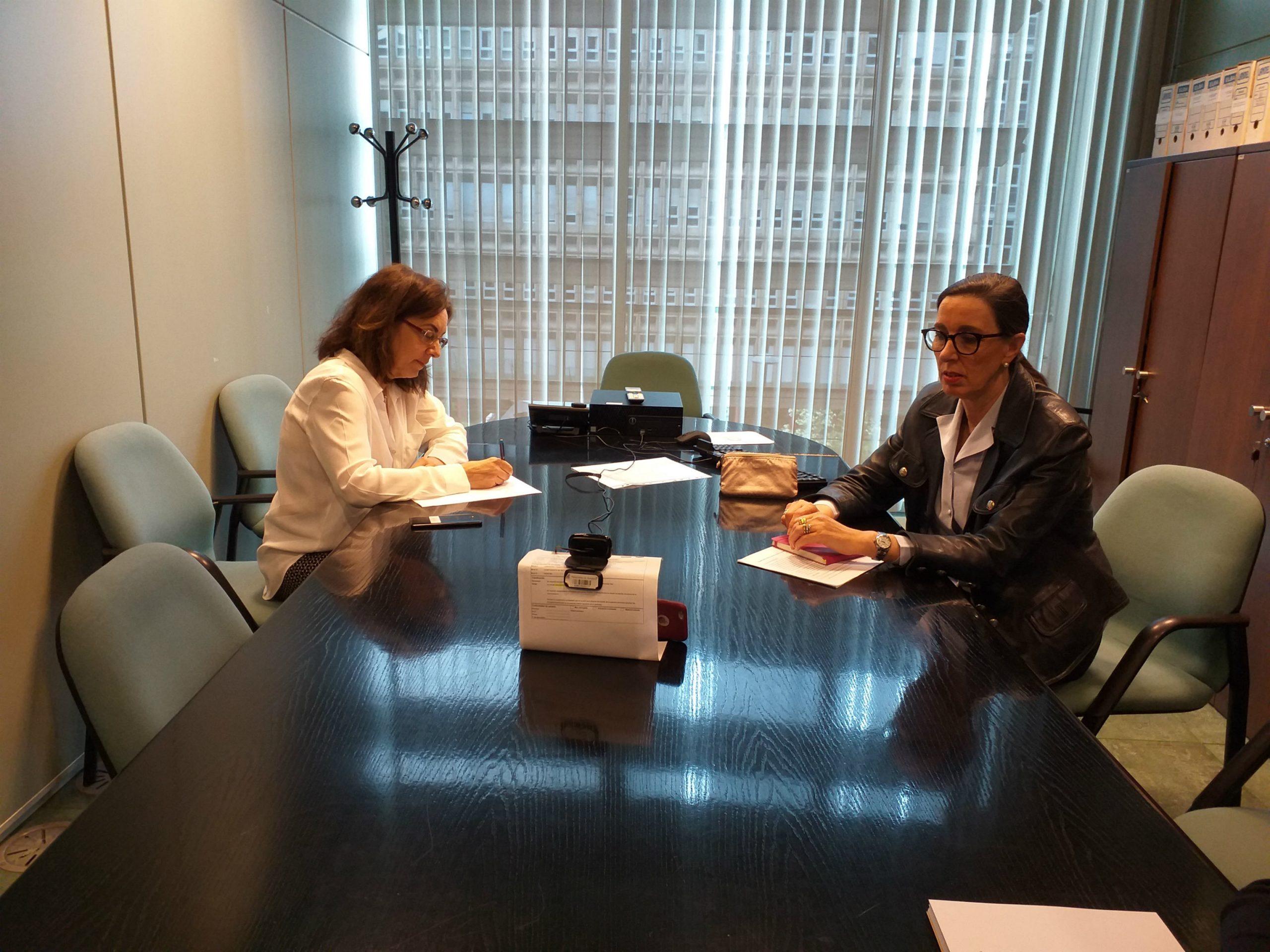La viceconsejera de Medio Ambiente y Cambio Climático, Nieves Roqueñí, ha participado en una reunión telemática del Grupo de Adaptación al Cambio Climático