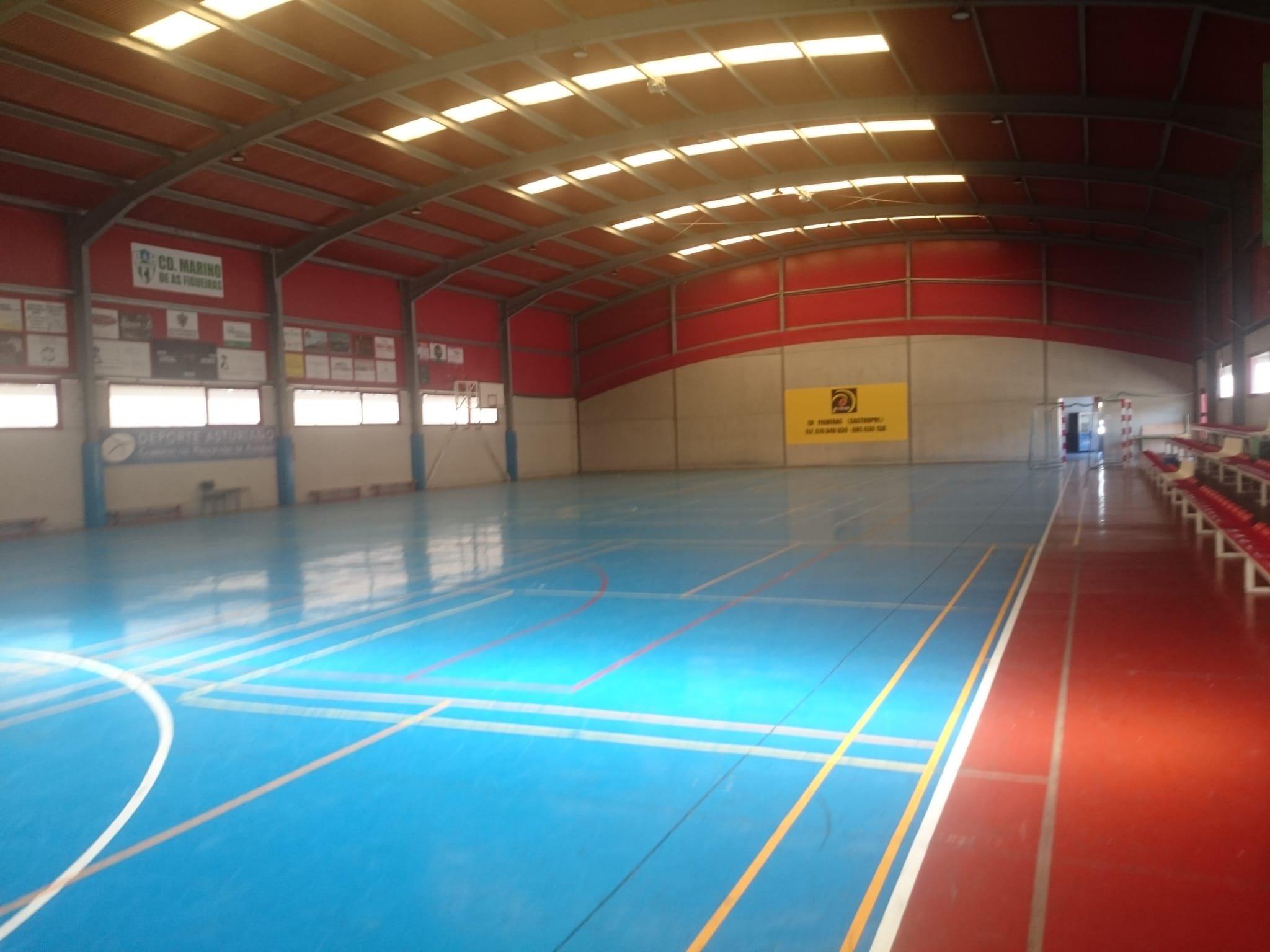 El próximo lunes se reanuda la actividad en el Polideportivo y Gimnasio Municipal de Barres (Castropol)