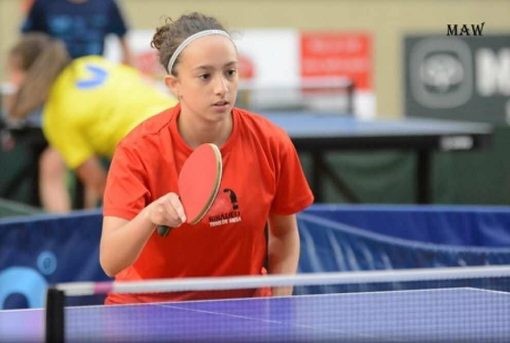 La jugadora Ana Rodríguez (Luarca Tenis Mesa), deja la práctica de este deporte debido a una lesión