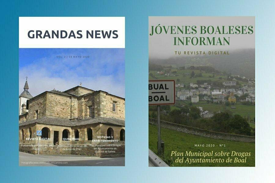 """""""Grandas News"""" y """"Jóvenes Boaleses Informan"""", apuesta de los Planes sobre Drogas de Grandas de Salime y Boal"""