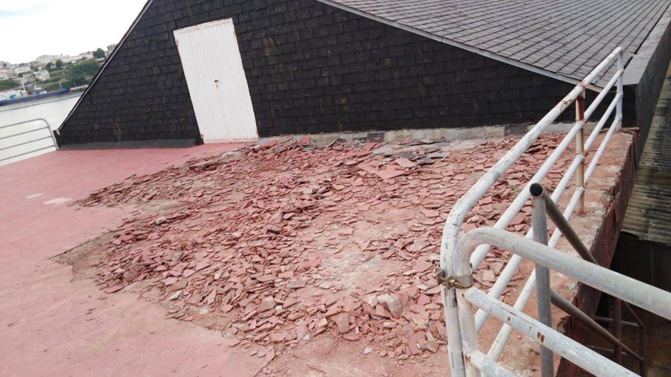 Comenzaron las obras de mejora en las instalaciones del Club de Mar de Castropol
