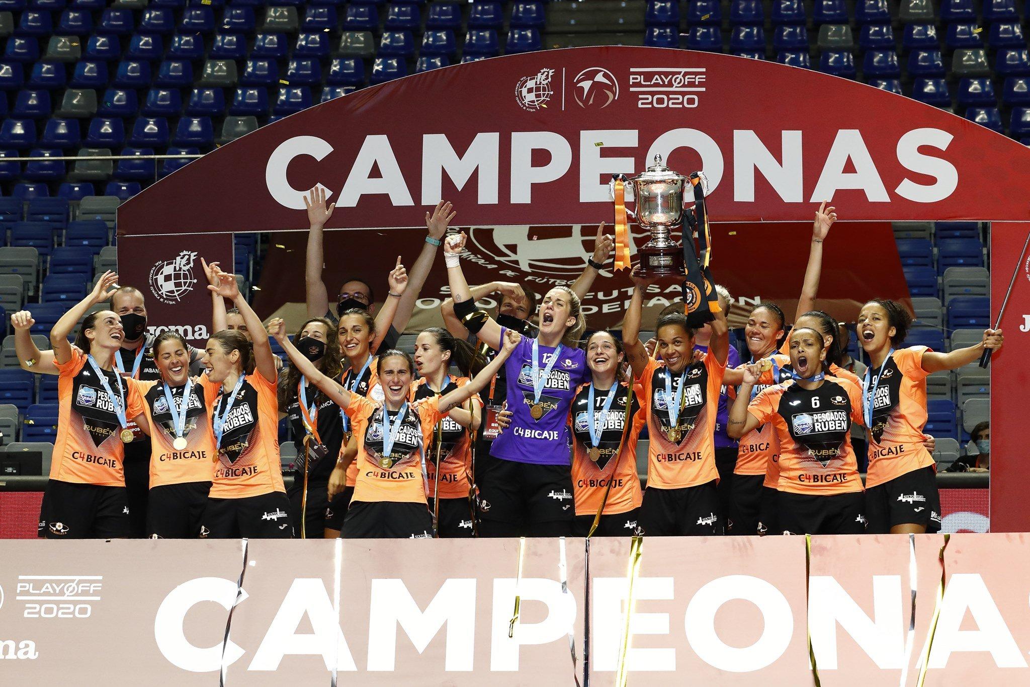 El Burela FS Campeón de Liga de Primera División Femenina