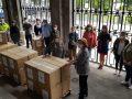 Entrega de 67.500 Mascarillas para repartir entre Colectivos Vulnerables