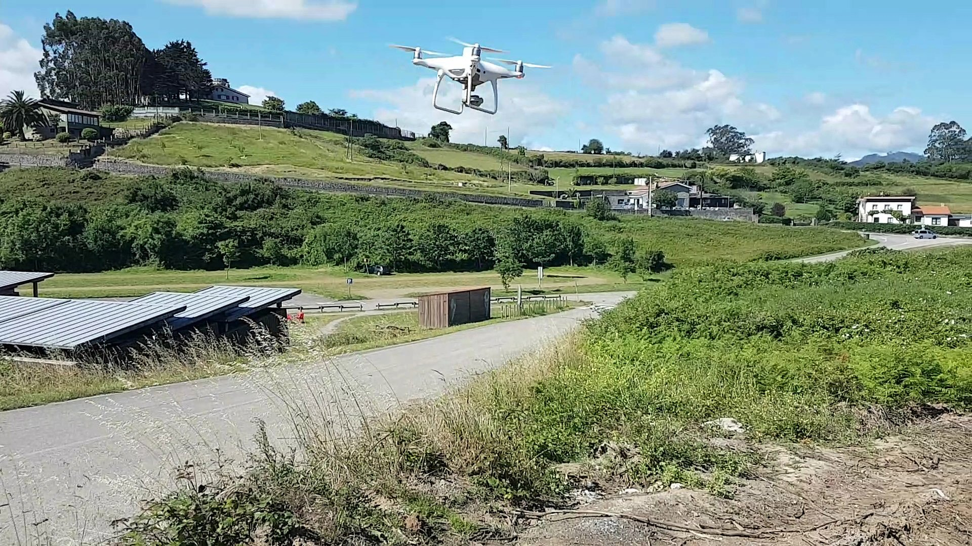 Drones para medir el aforo de las playas