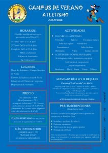 Preparativos del V Campus de Atletismo del CAO Navia
