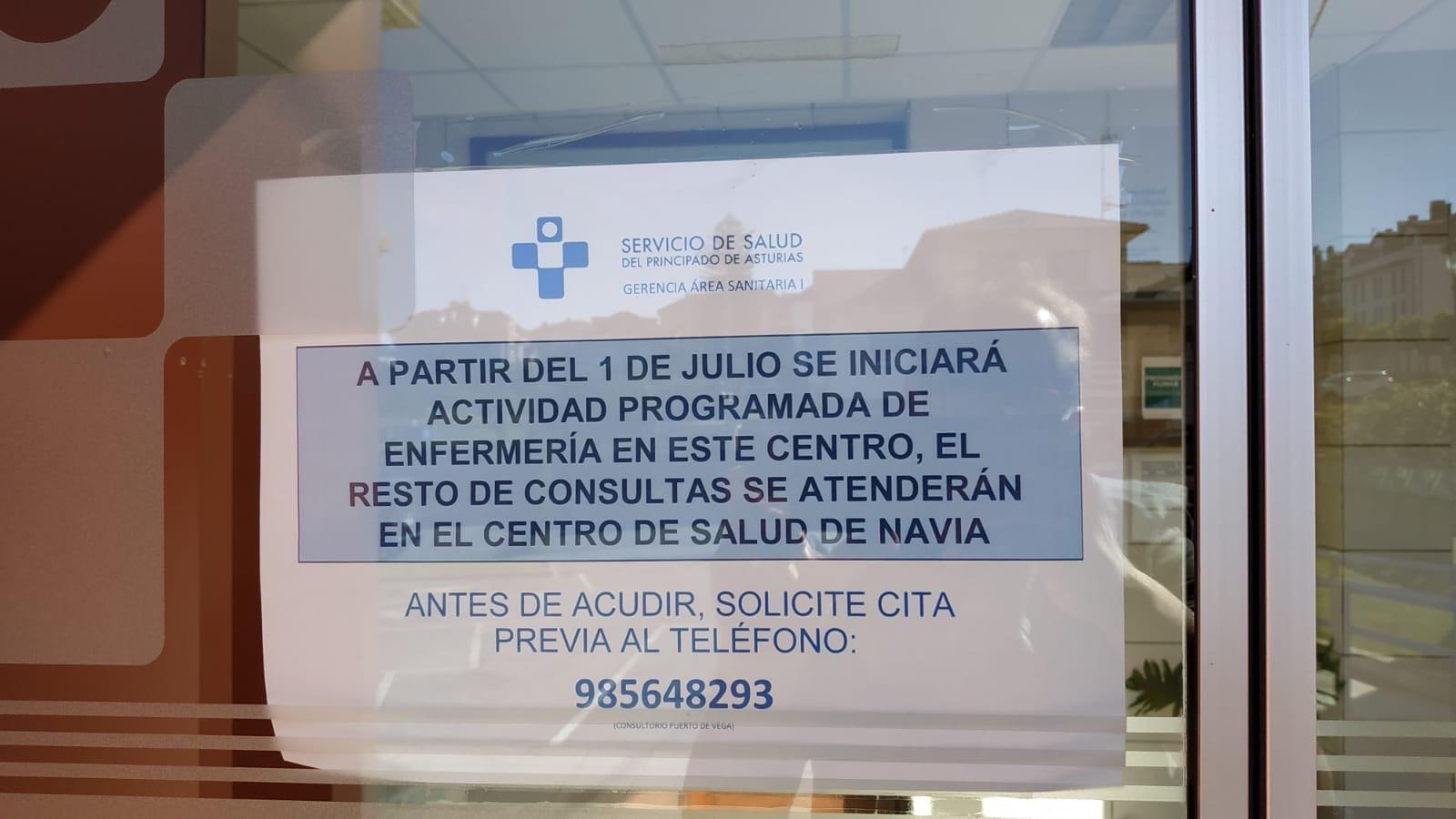 El ayuntamiento de Navia sufragará el desplazamiento de los pacientes del Centro de Salud de Puerto de Vega que sean derivados al de Navia