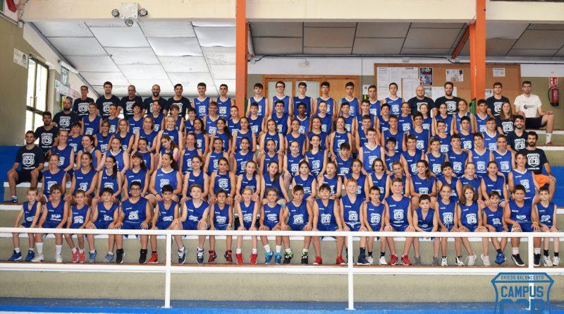 Finalmente el Campus de Verano del Oviedo CB en esta edición se traslada de Luarca a Cangas del Narcea