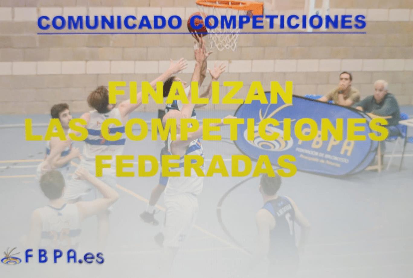 La Federación Asturiana de Baloncesto da por finalizada la temporada sin Campeones y sin Ascensos y Descensos tras consulta a los Clubes