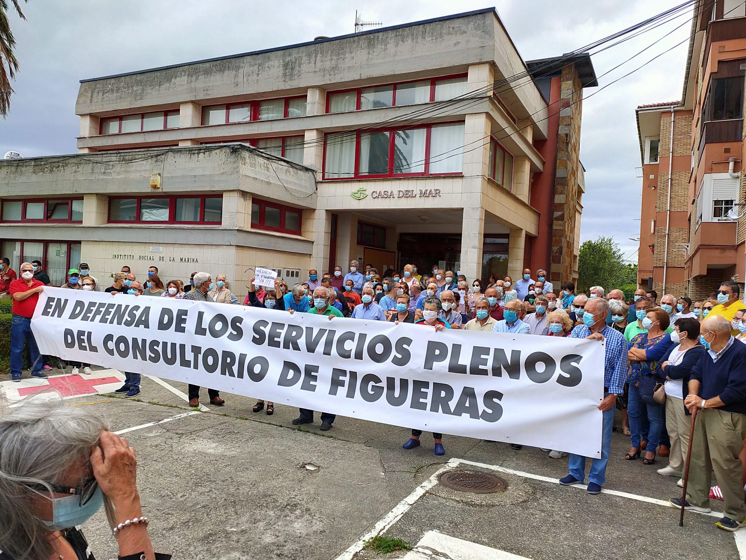 Exigen la reapertura del Centro de Salud de Figueras (Castropol) con todos los servicios