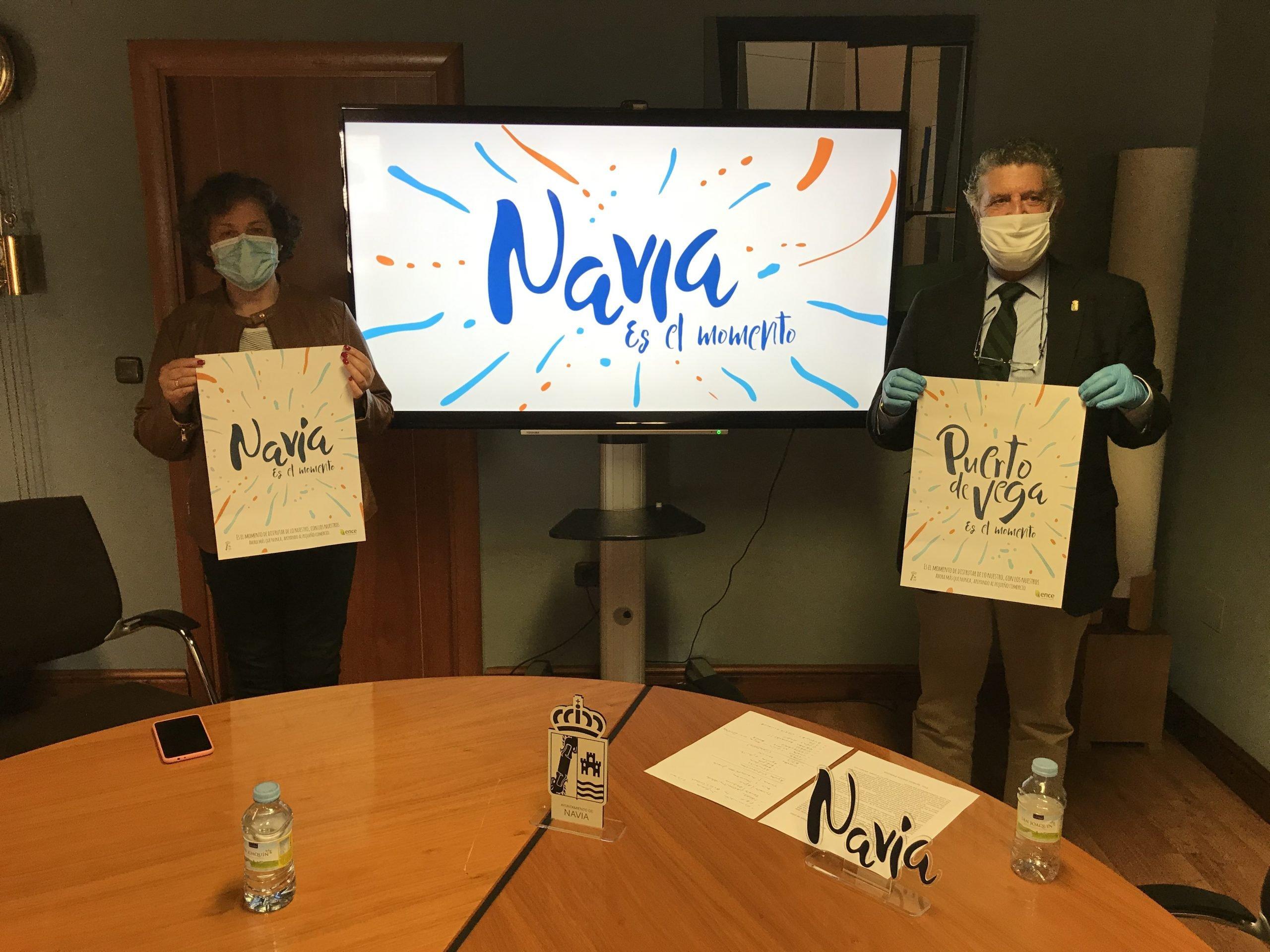 """Presentación oficial de la campaña """"Navia, es el momento"""""""