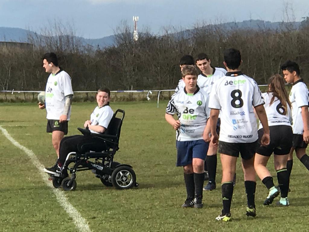 La Sección de Rugby Inclusivo del Beone Cobrará Protagonismo la Temporada 2020-2021.