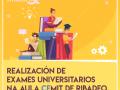 El Aula CEMIT de Ribadeo acogerá pruebas universitarias de l@s estudiantes que no pueden examinarse desde casa