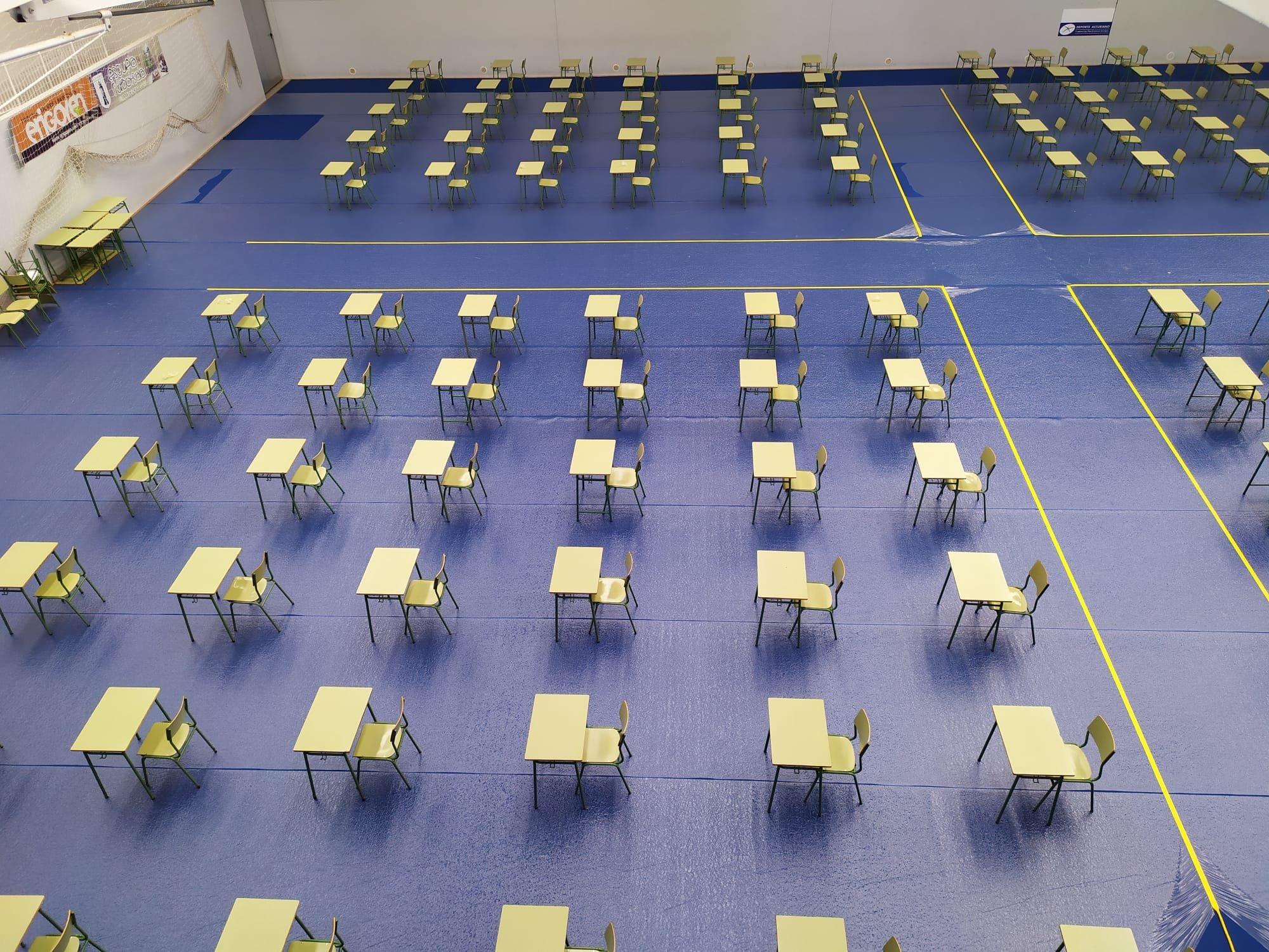 Estudiantes de Bachillerato, descontentos con el traslado a Luarca de las pruebas EBAU
