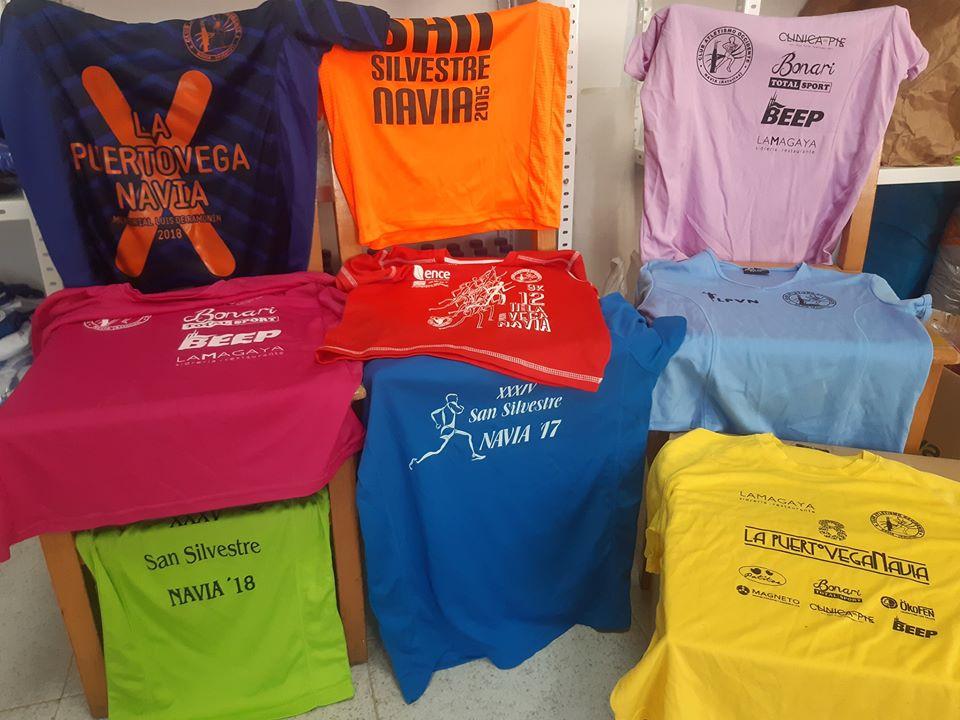 El Club Atletismo Occidente dona mas de 500 Camisetas Técnicas a los niños Saharauis