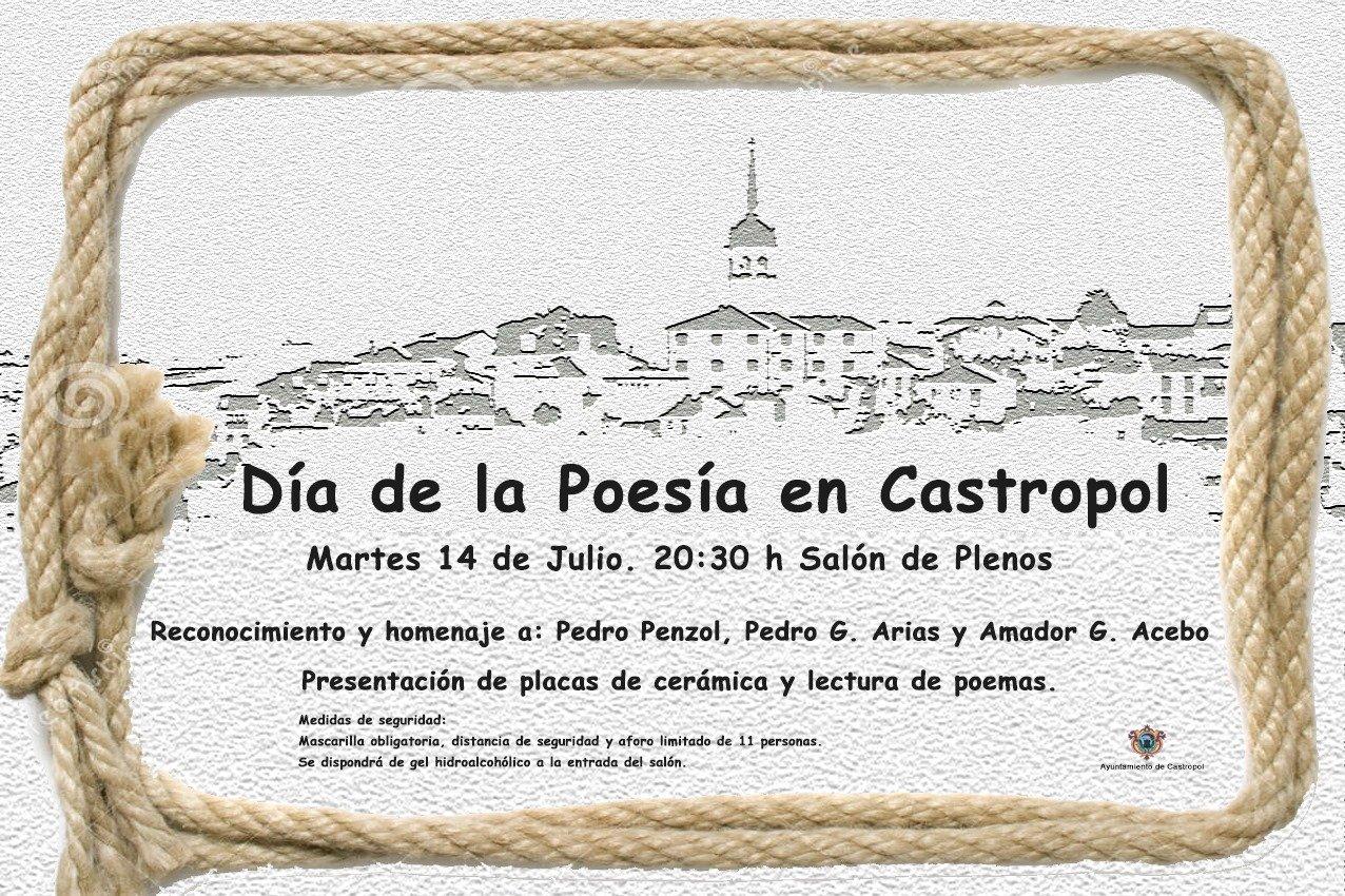 Hoy Día de la Poesía en Castropol