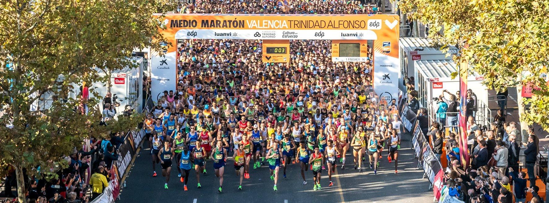 Cancelado el Medio Maratón de Valencia que contaba con 20.000 corredores inscritos