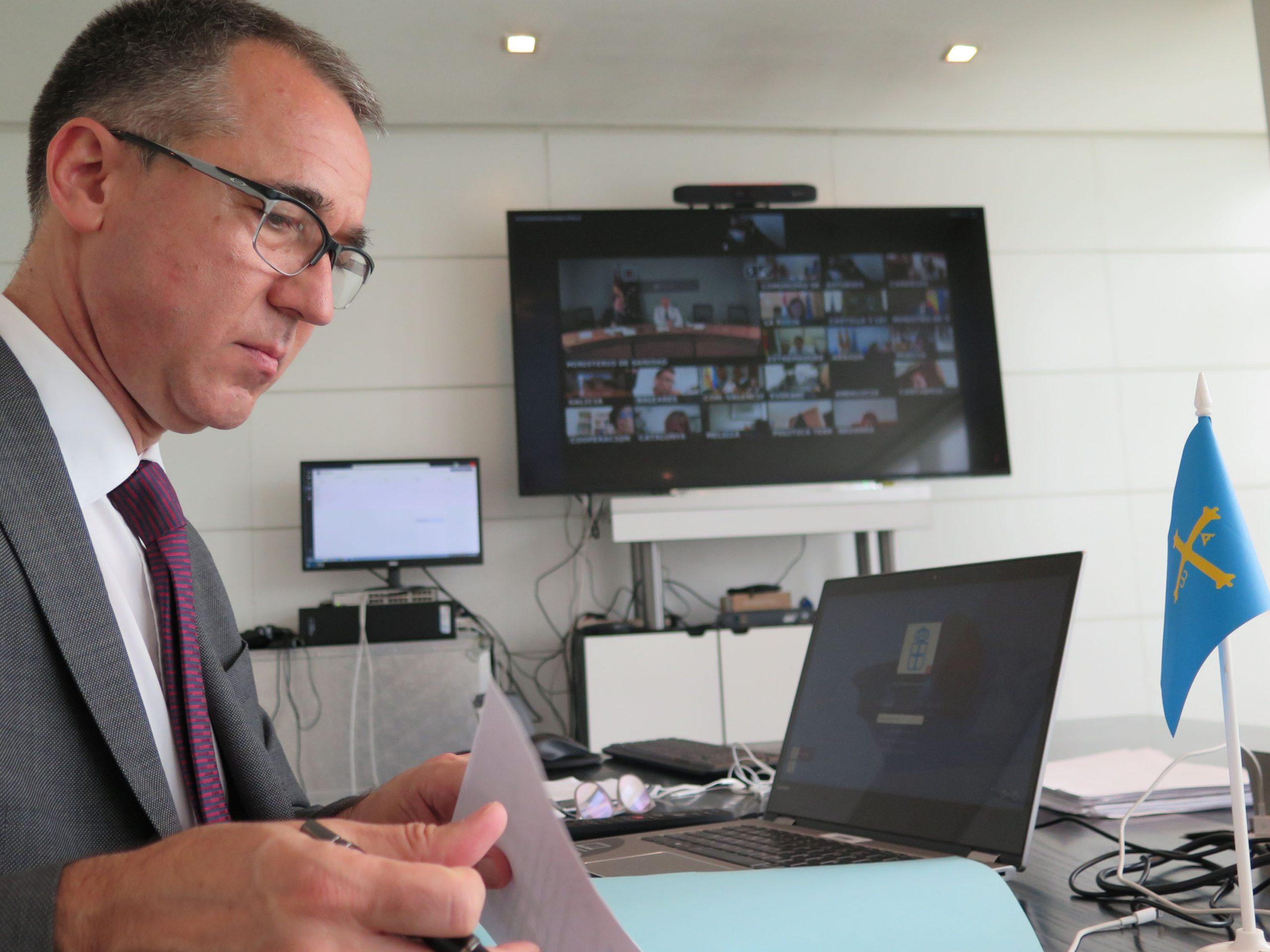 """Consejero de Salud de Asturias: """"el aumento en el número de casos es realmente preocupante"""""""